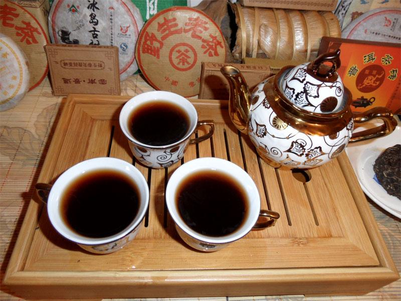 Как пить чай пуэр